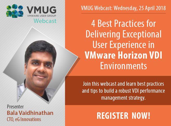 VMUG Webcast