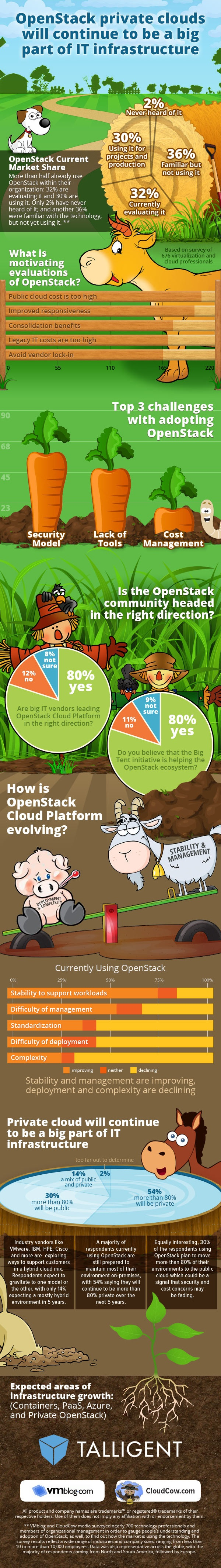 Talligent OpenStack Infographic