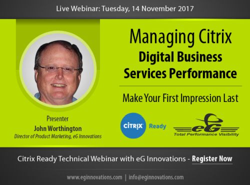 eginnovations november webinar