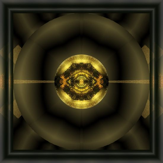 framed-dark-star-abstract-design