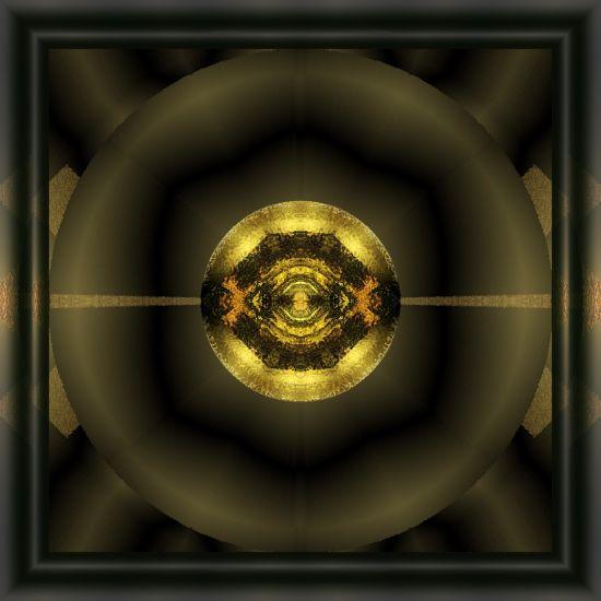 framed-dark-star-abstract-design