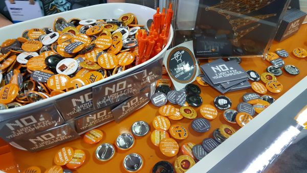 SolarWinds Buttons Giveaway