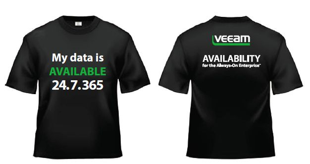 Veeam VMworld giveaway