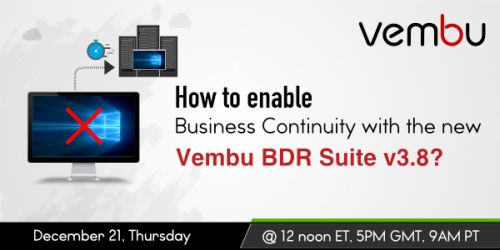 vembu-BusinessContinuity-decwebinar