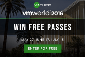 VMTurbo VMworld 2016 Pass