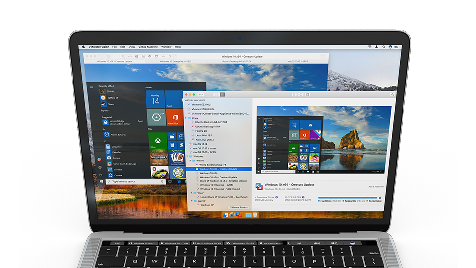 VMware Updates Fusion 10 Mac Virtualization, Adds High
