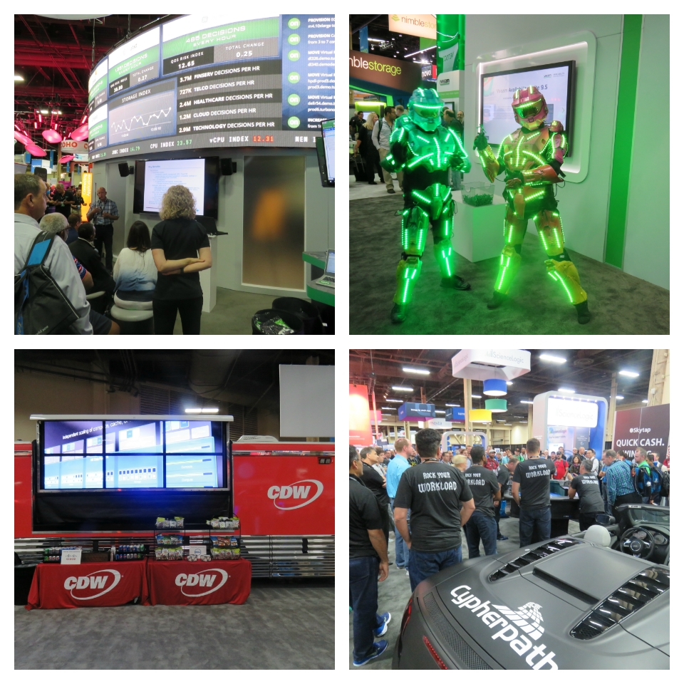VMworld 2016 Big Booths