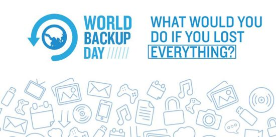 world backup day header