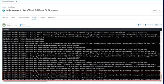 CSM authorization logs