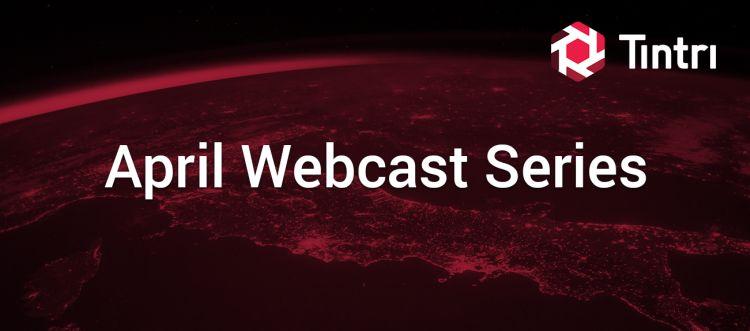 Tintri April 2020 Webcasts