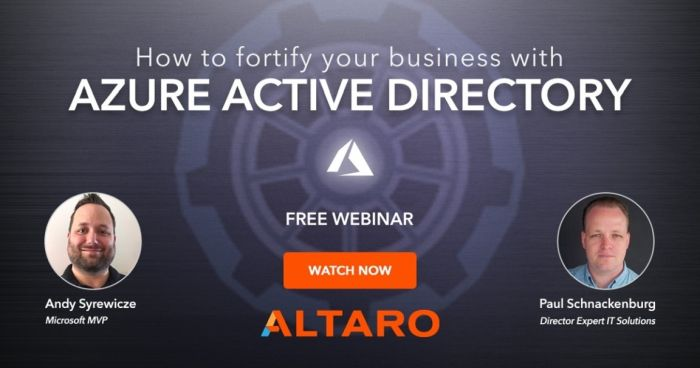 azure active directory webinar